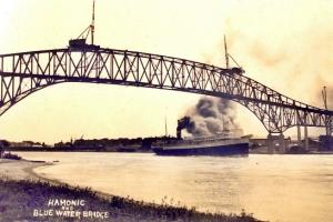 The Steamer Hamonic a mile south of Sherman Woods