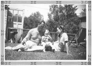 Richard Holt , his wife Estella with their daughter Sarah Sherman Holt Jett , partners in the Sherman Woods project