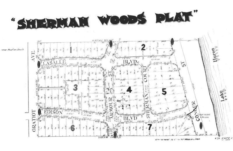 SHERMAN WOODS PLAT 1