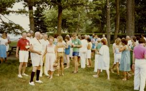 Mid 1980's Cocktail Party
