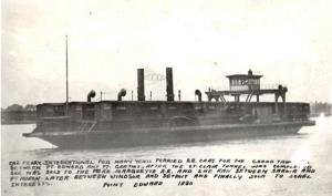 C. N. railway ferry between Point Edward and Fort Gratiot 1880