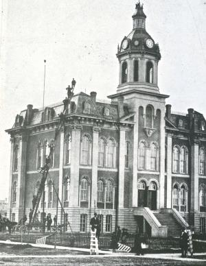 Port Huron City Hall and Court House 1873