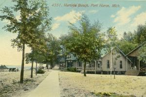 Huronia Beach Cottages  Port Huron 1907