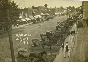 July 4th Celebrations in Capac 1914