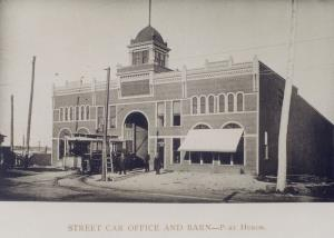 Street Car Office and Barn Port Huron