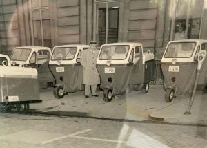 Port Huron Post Office delivery Vehicles When the Post office was at the Federal Building on 6th and Water St