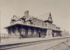 Chicago and Grand Trunk Depot. Port Huron ,Mi
