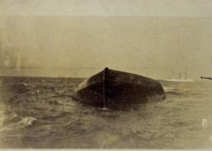 Steamer Charles Price sank Nov 9.  1913 in Lake Huron , another victim of  the