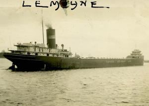 Largest Steamer on the Great Lakes at that time. 633 feet, built in Midland Ontario 1926. Scrapped in 1968.