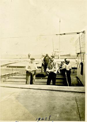 Marianne Kemps Great Grandfather Onboard the Callender 1929