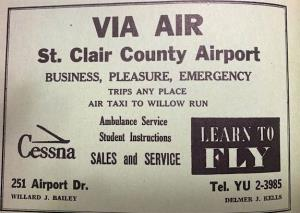 The Beginnings of St Clair Airport