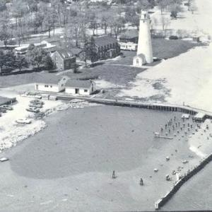Coast Guard Station and Gratiot Light 1960's